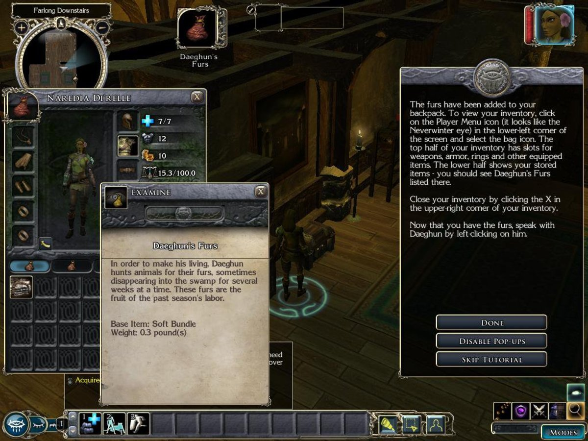 Complex RPGs require a robust interface. It's not unusual to use a variety of widgets while you play.