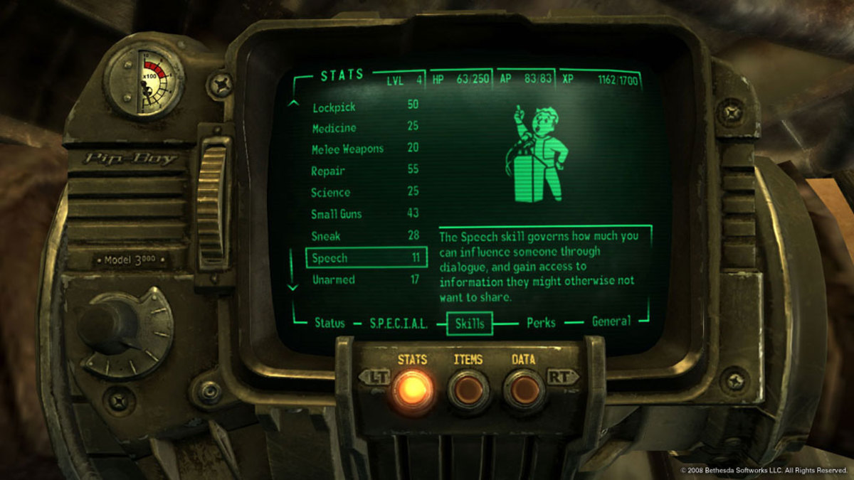 RPGs often have elaborate and complex user interfaces.