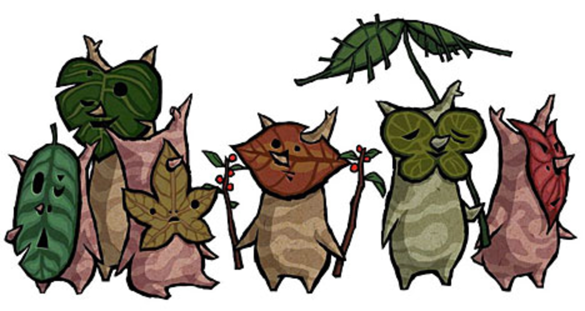 "The Koroks of ""The Wind Waker"""