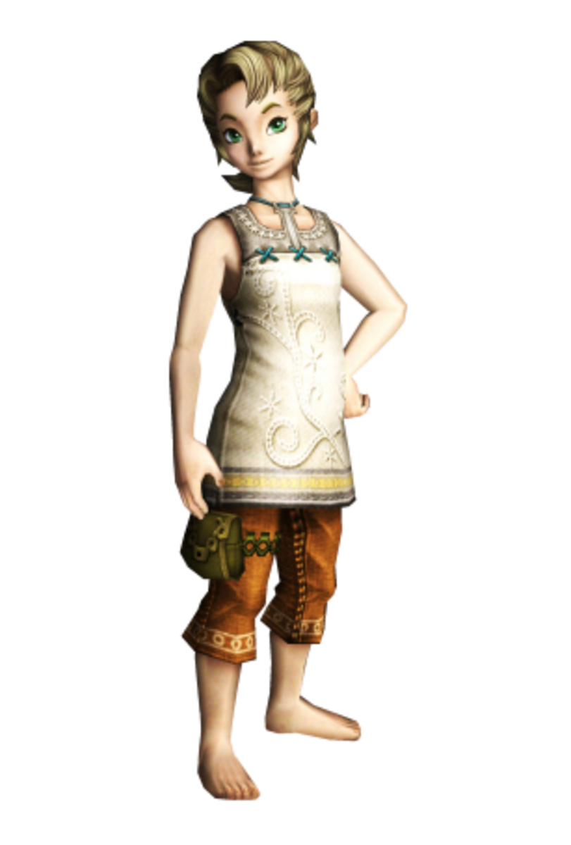 "Ilia is a human from Ordona Province in ""Twilight Princess."""