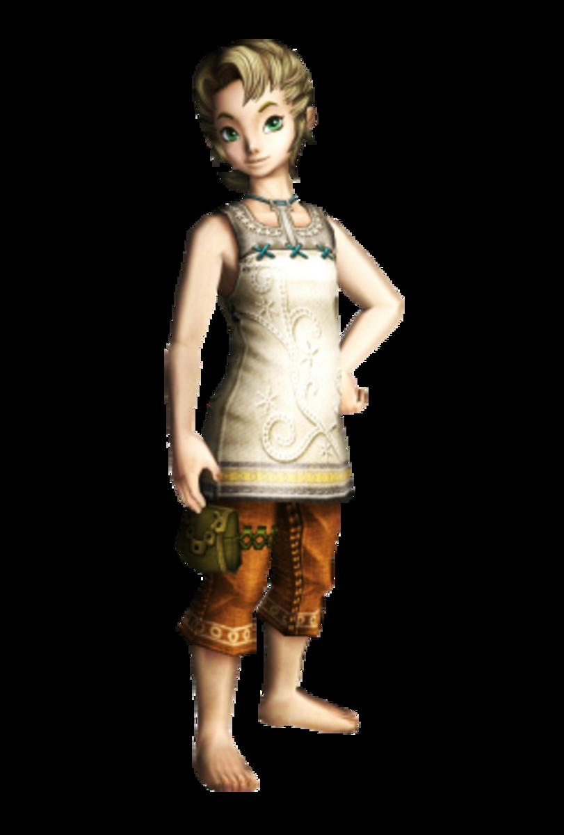 Ilia, a human from Ordona Province in Twilight Princess.