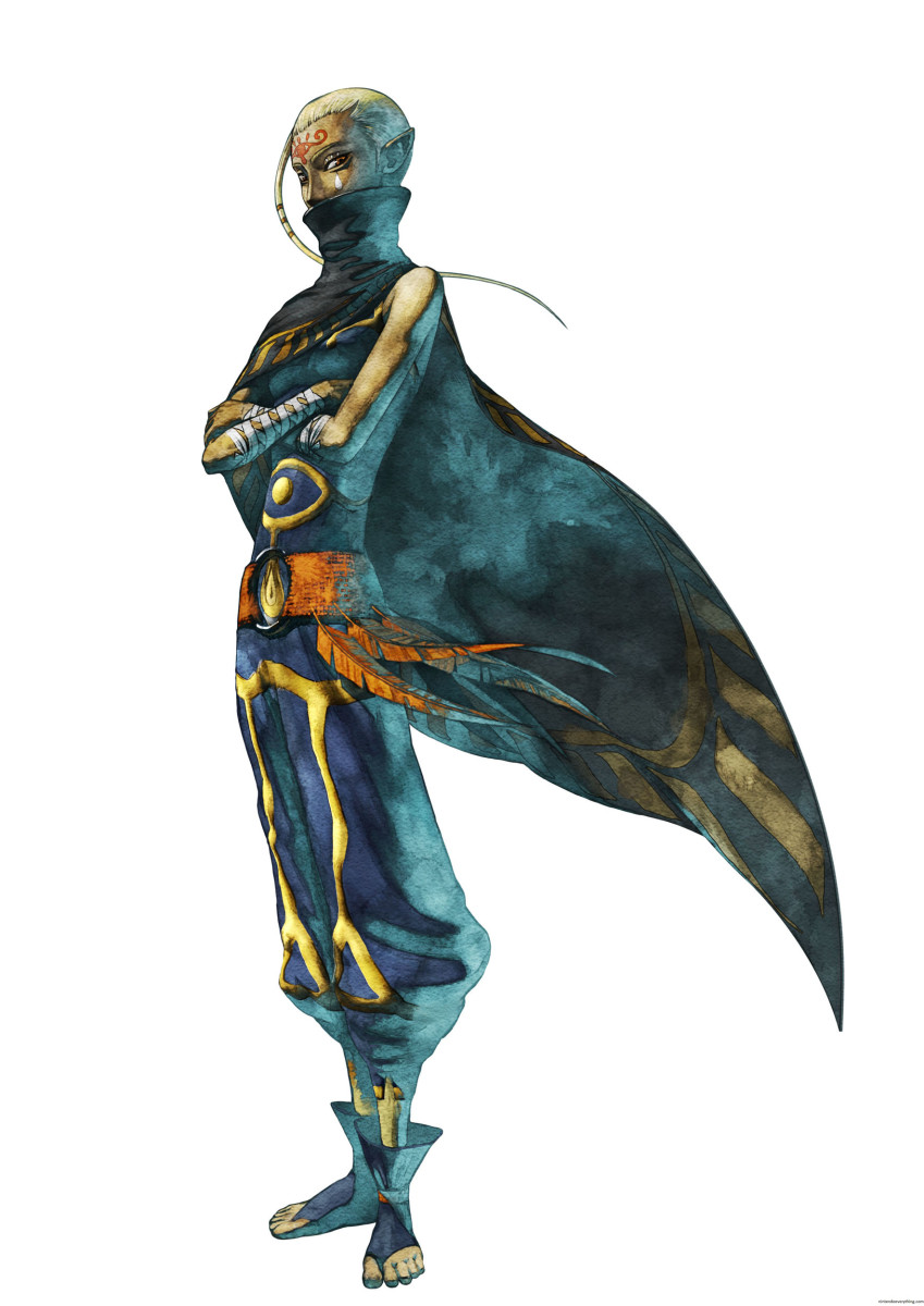 Impa is the only confirmed Sheikah in the entire series.