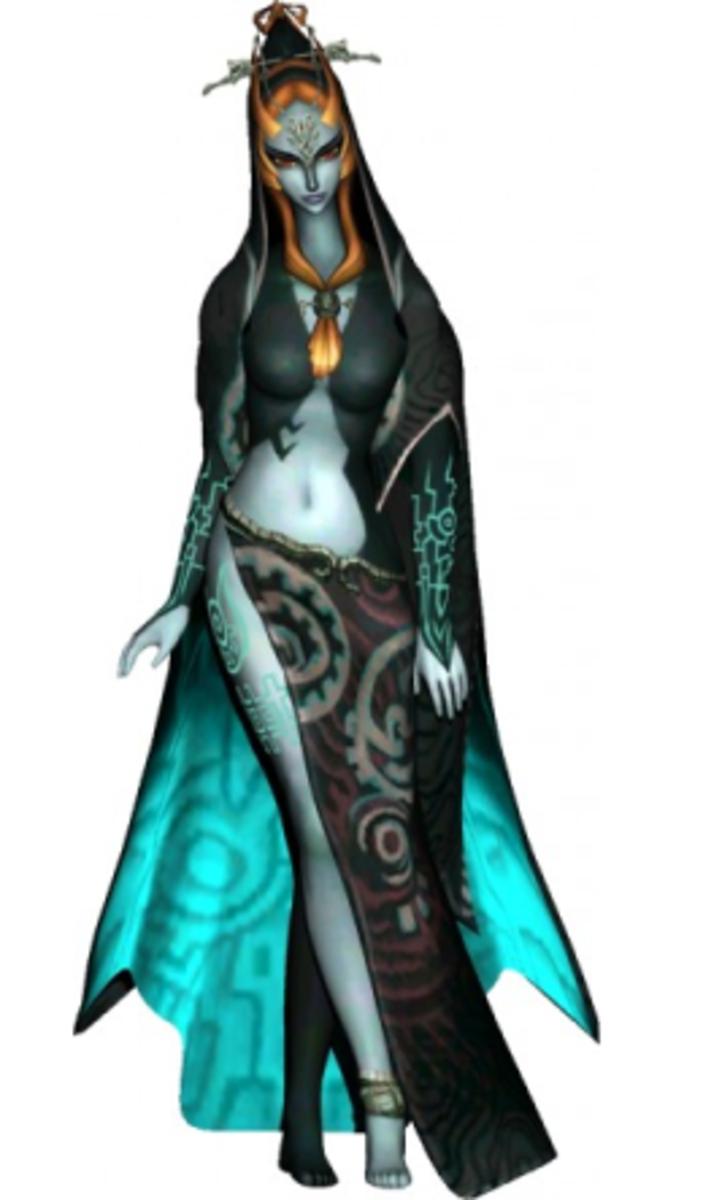 Princess Midna of the Twilight Realm.