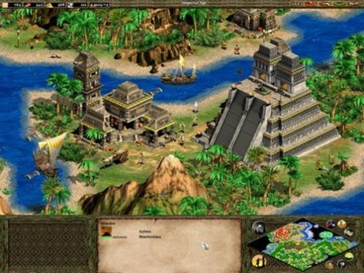 Age of Empires 2 remains, by far, my favorite game of all time. I must've clocked in nearly a 1000 hours of playing time!