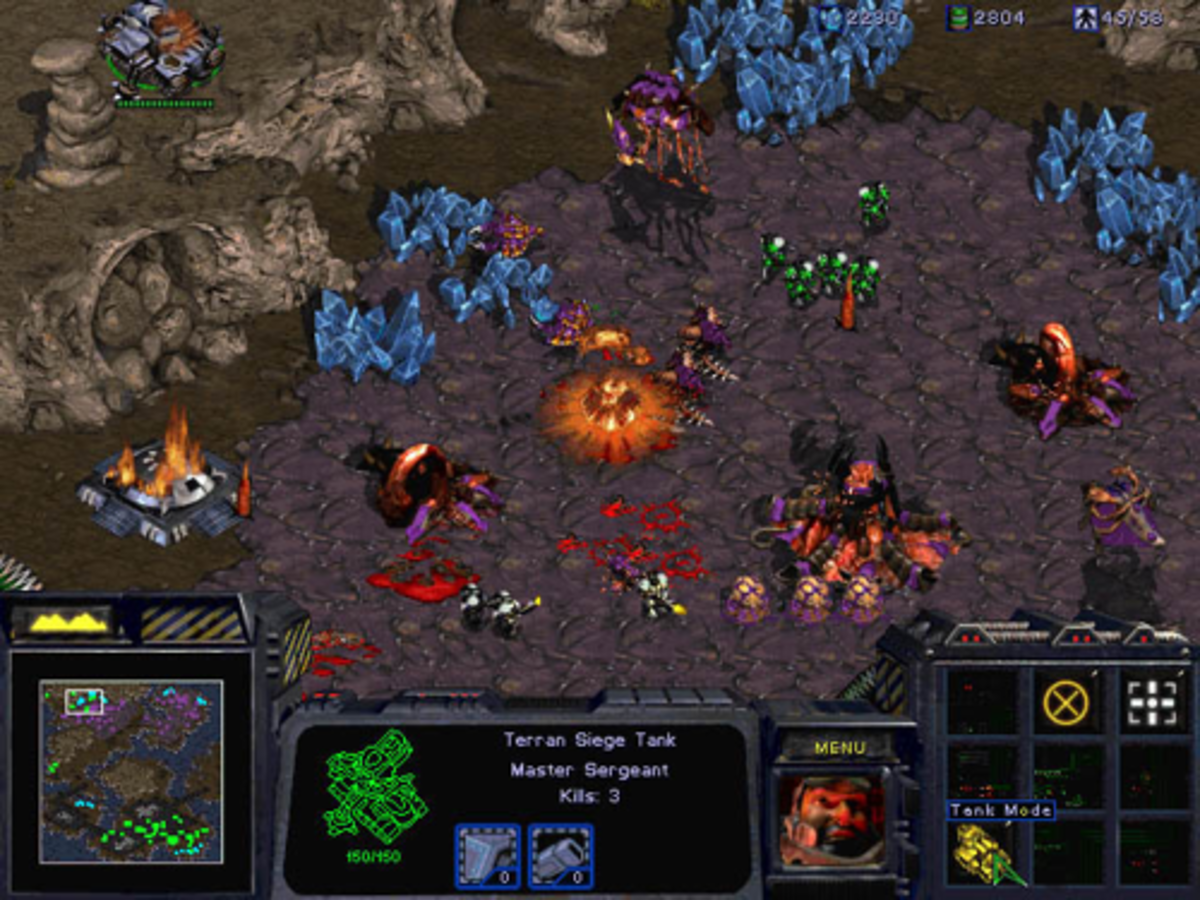 It would be a sin to not include StarCraft on any list of old school strategy games.
