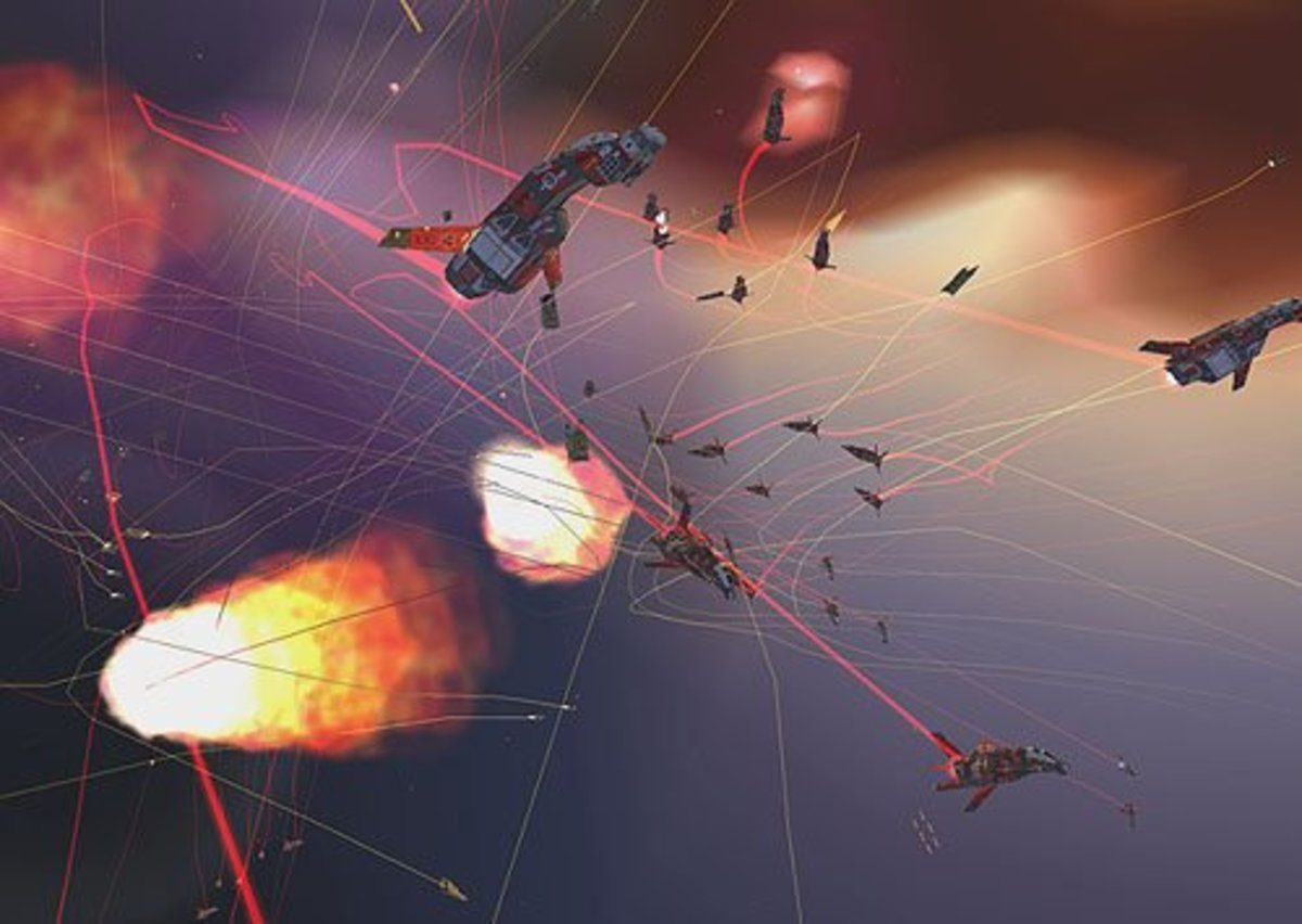The first game to bring true 3D to strategy gaming. Homeworld was challenging and immensely fun.