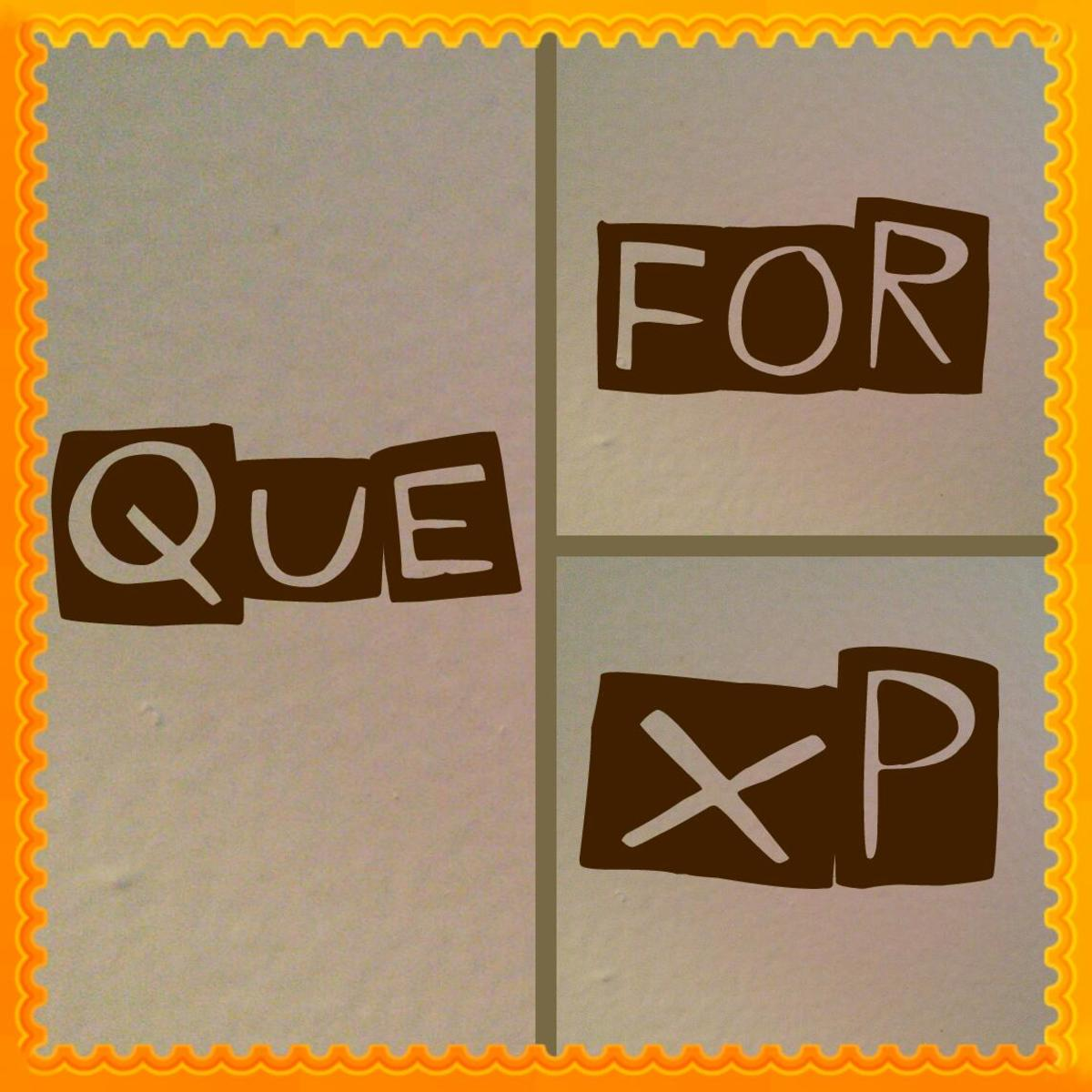 Don't forget to que, or you will miss the extra experience.