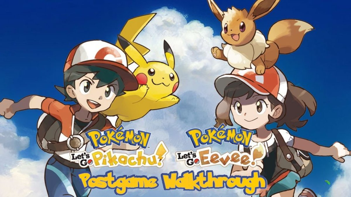 """Pokémon Let's Go Pikachu and Eevee"": Postgame Walkthrough"