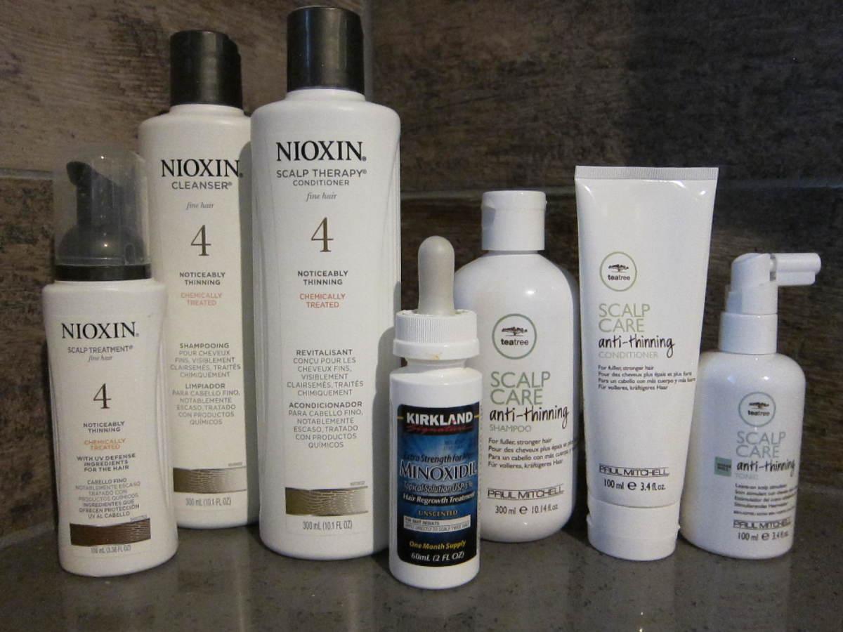 Nioxin vs. Paul Mitchell Anti-Thinning System