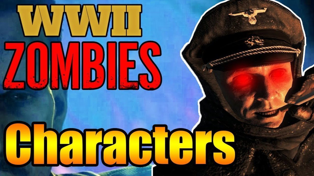 How to Unlock All Secret Characters in Call of Duty WW2: Nazi Zombies