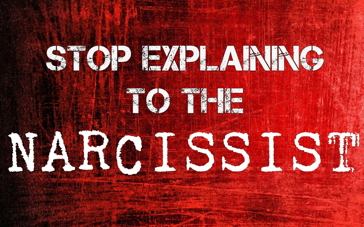 Stop Explaining to the Narcissist! Do This Instead | PairedLife