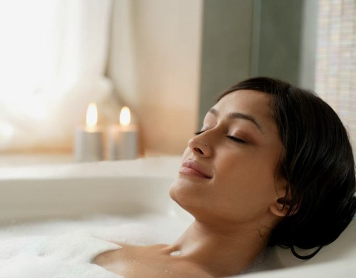 The Health Benefits of Taking a Hot Bath