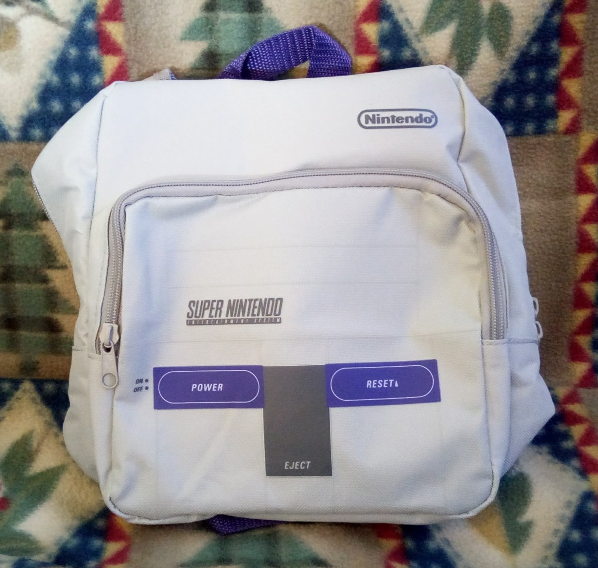 SNES Console Backpack - Nintendo CultureFly Collector Box