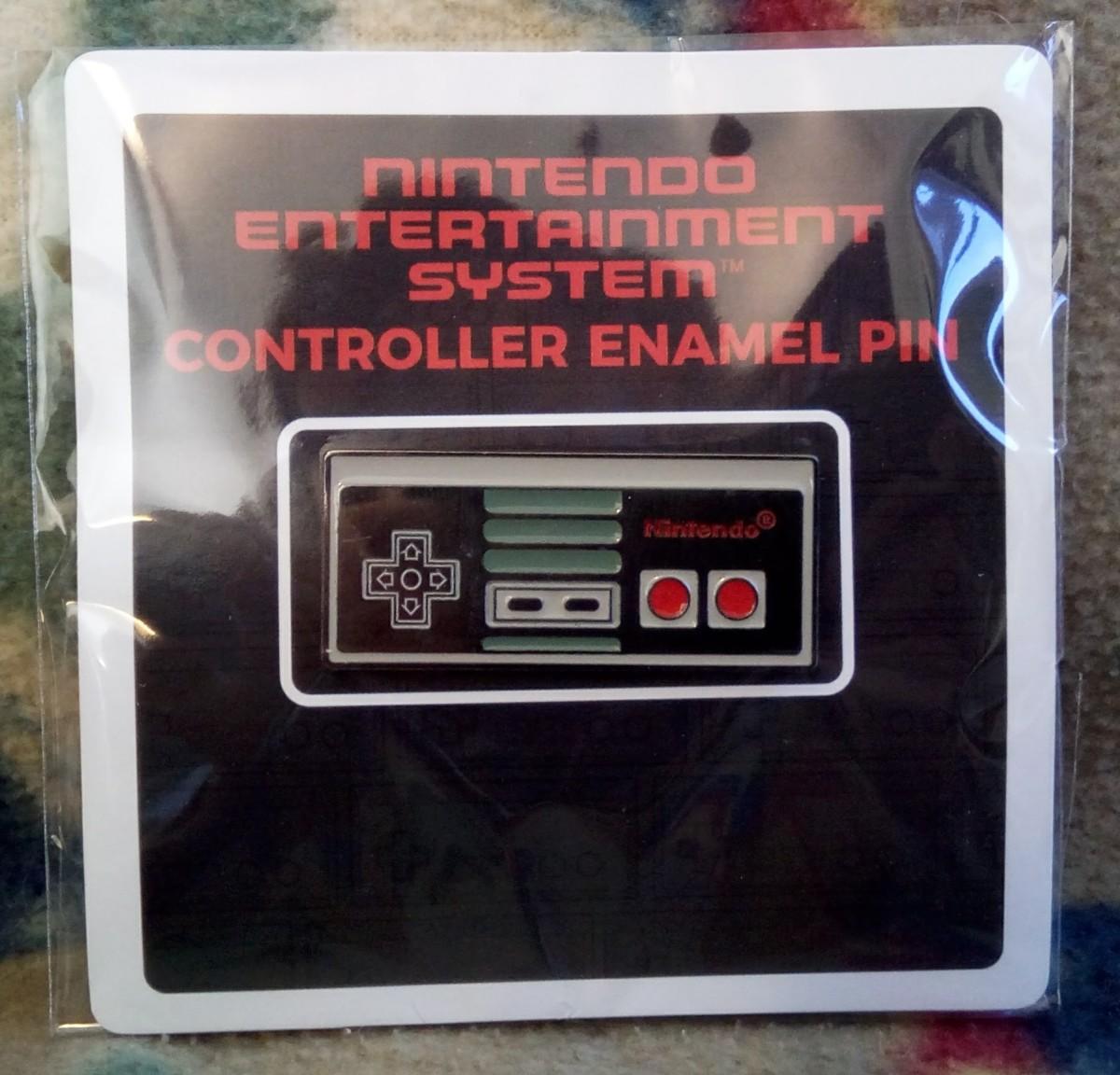 NES Controller Pin - Nintendo CultureFly Collector Box