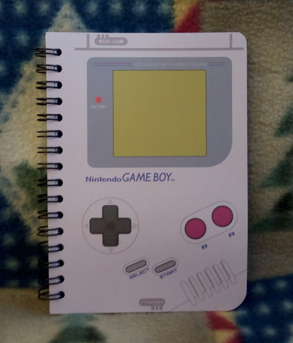 Mini Game Boy Notepad - Nintendo CultureFly Collector Box