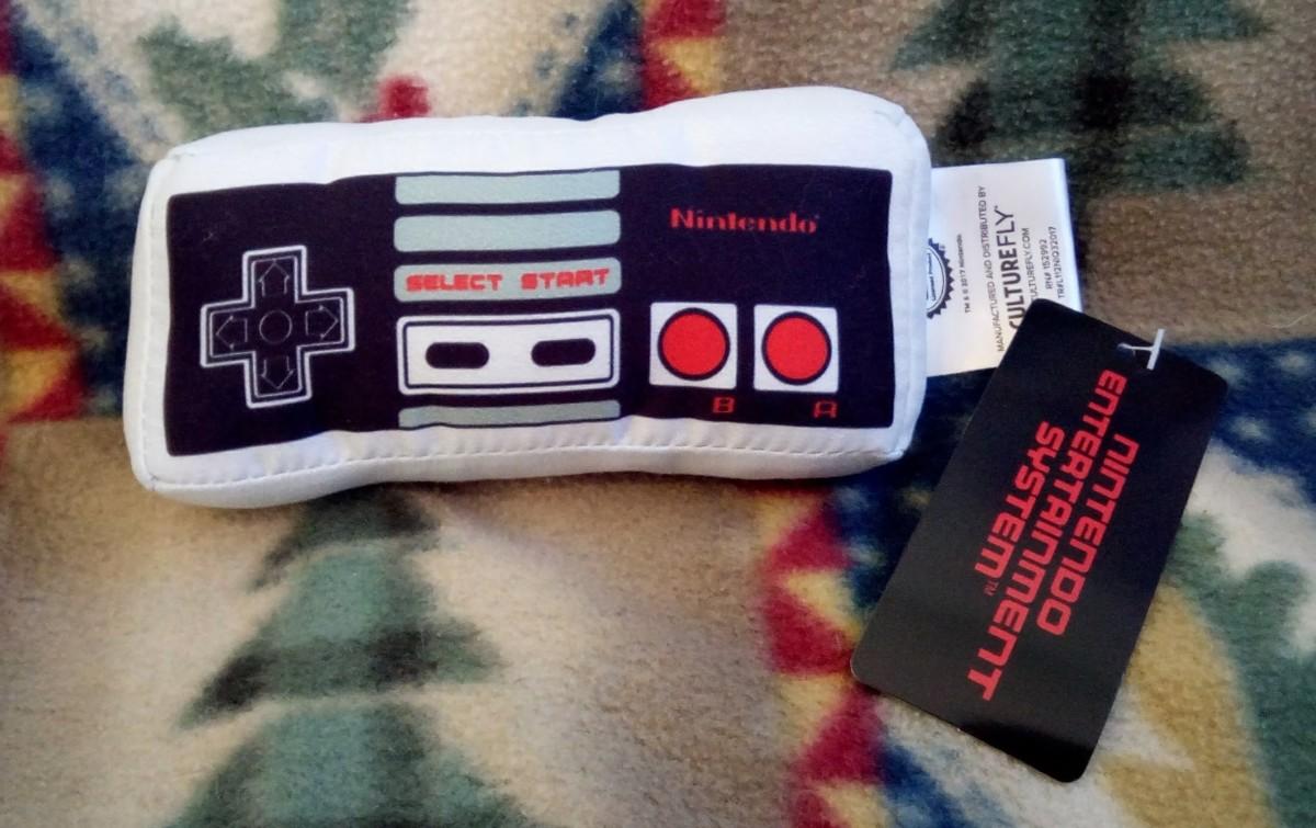 NES Plush Controller - Nintendo CultureFly Collector Box