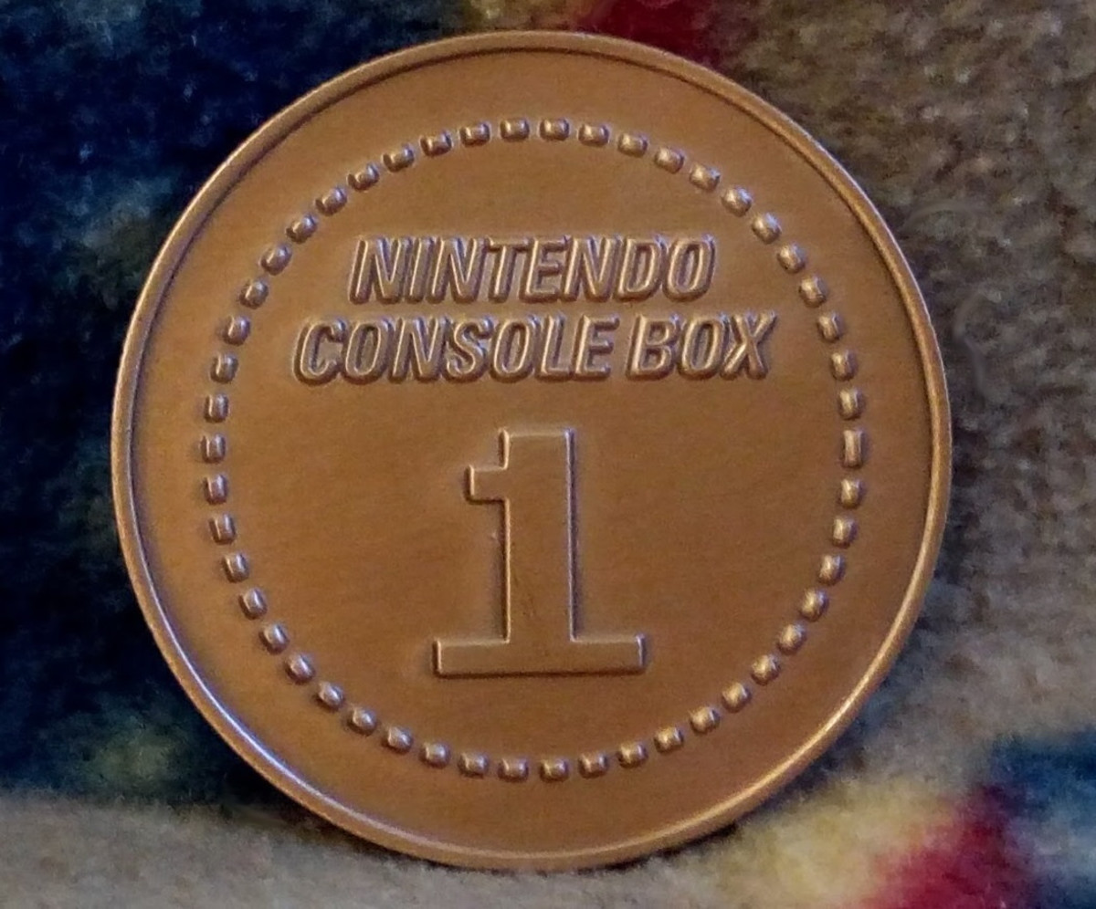 Collectible Coin - Nintendo CultureFly Collector Box