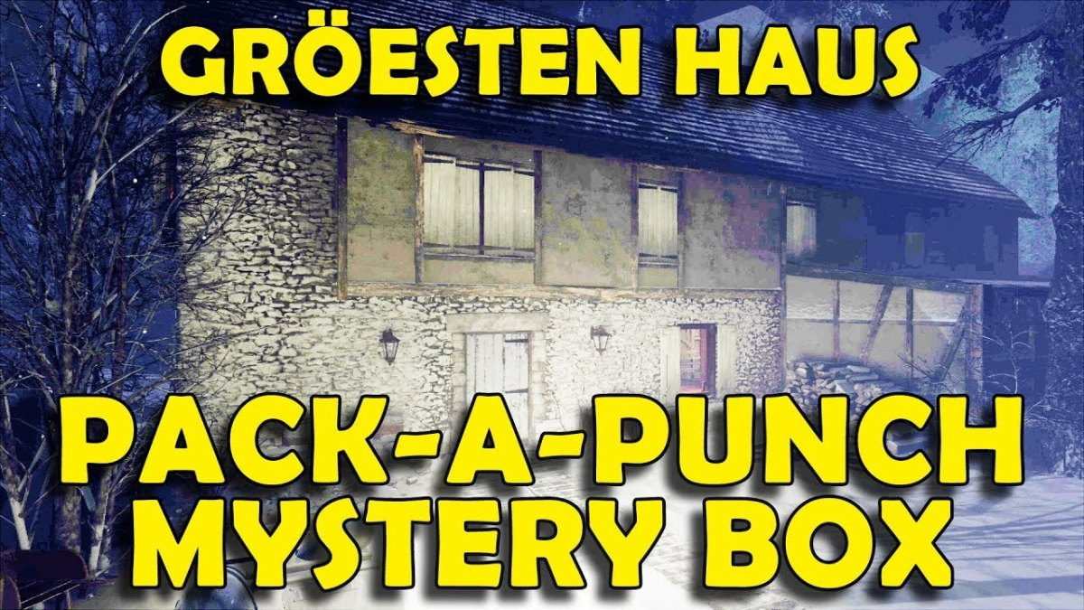How to Upgrade Weapons & Unlock Mystery Box in Groesten Haus Call of Duty WW2 Zombies