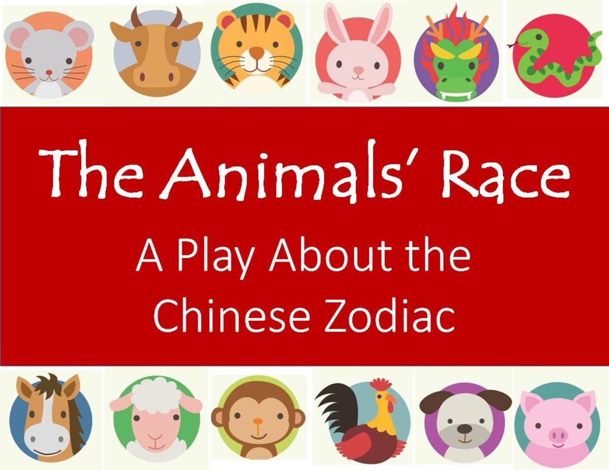 The Animals Race A Play About Chinese Zodiac
