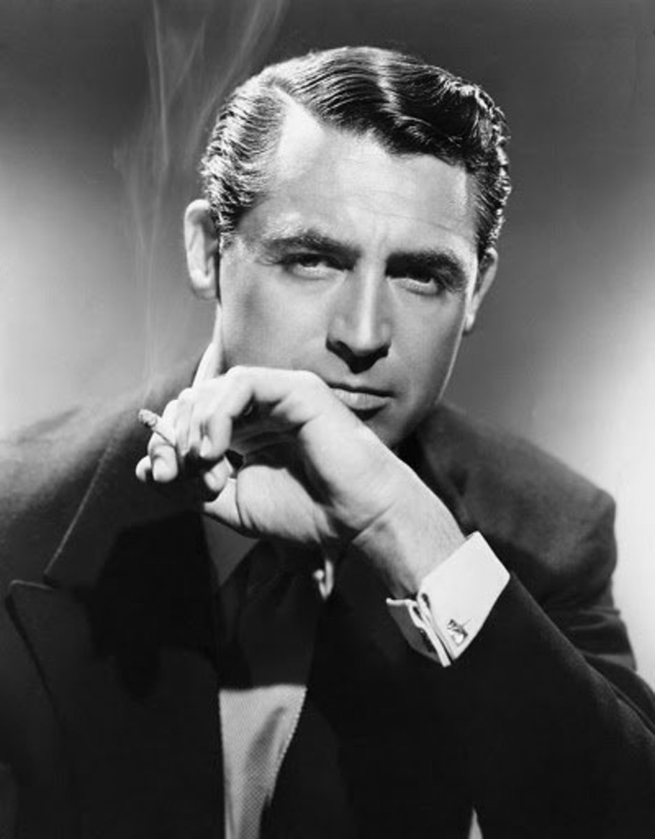 Cary Grant was how that I wanted to look when I used my dad's hair oil. Don't you think that Grant looked a lot better with the hair oil of his day?