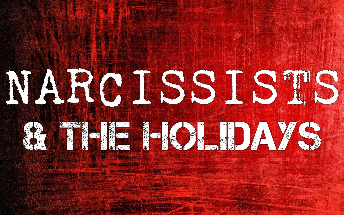 Narcissists & The Holidays