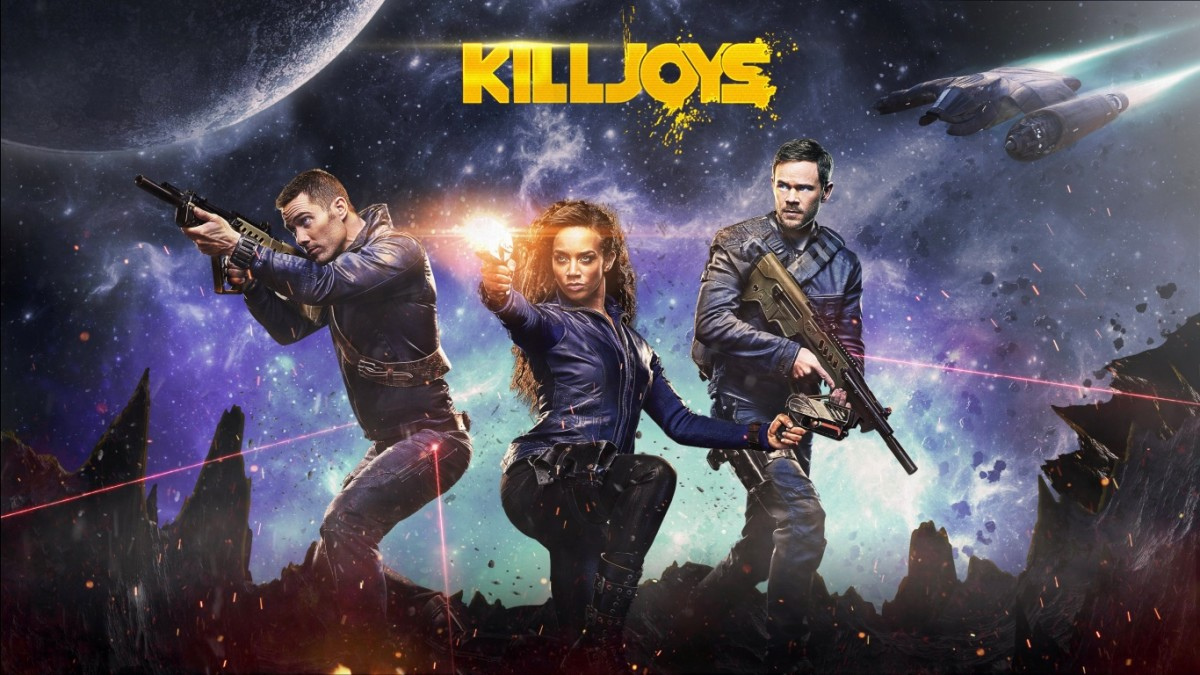 Killjoys is an action-packed ride through space.