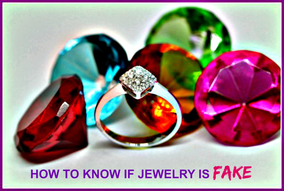 How to know if jewelry is real or fake.