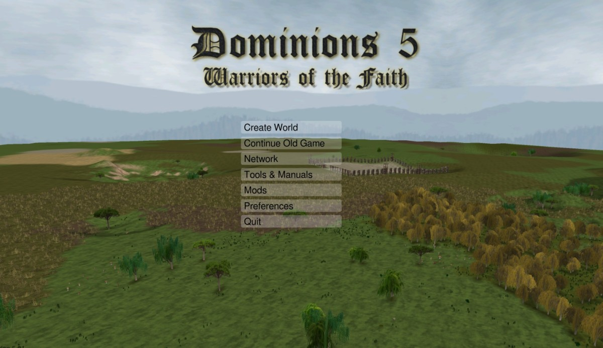 Dominions 5 : A Strategy Game for Mac That You Haven't Heard Of