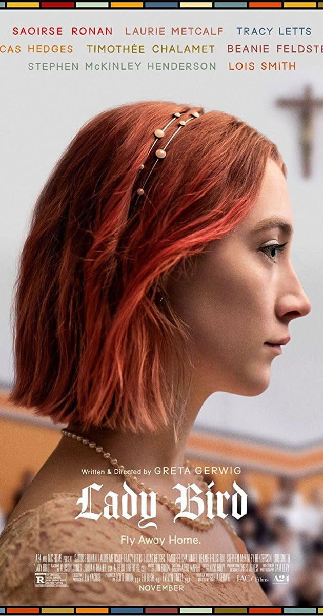The New Film 'Lady Bird' Soars