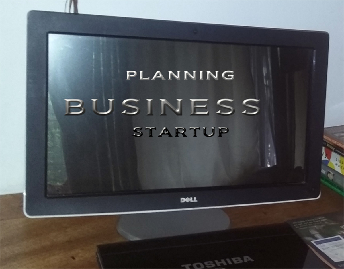 Planning that First Business Startup