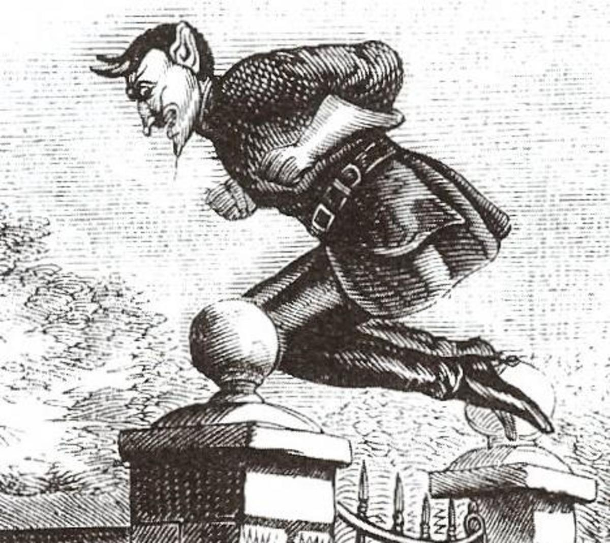 Spring-Heeled Jack: a Victorian Terror