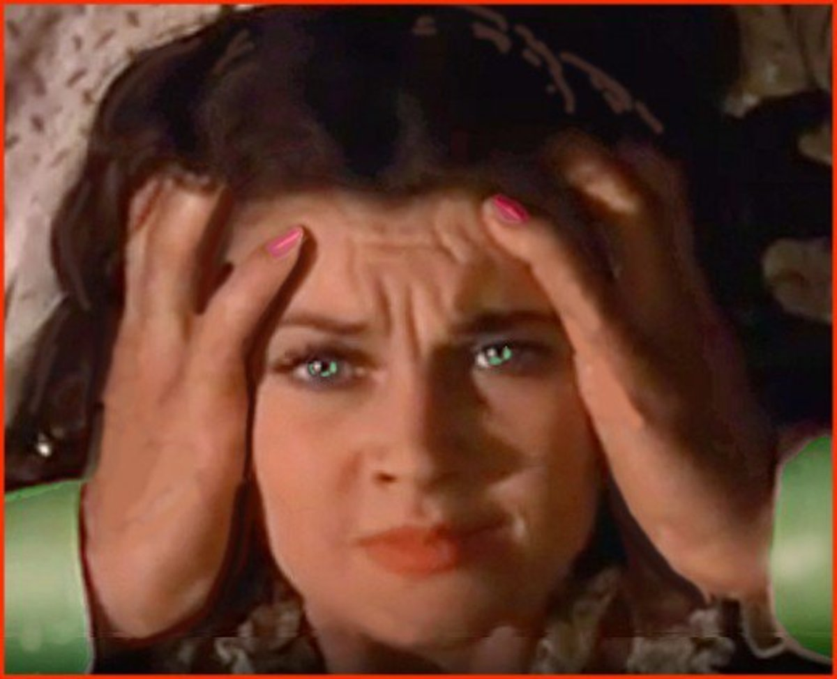 """Actress Vivien """"Scarlett O'Hara"""" Leigh, star of Gone with the Wind suffered from bipolar disorder for many years."""