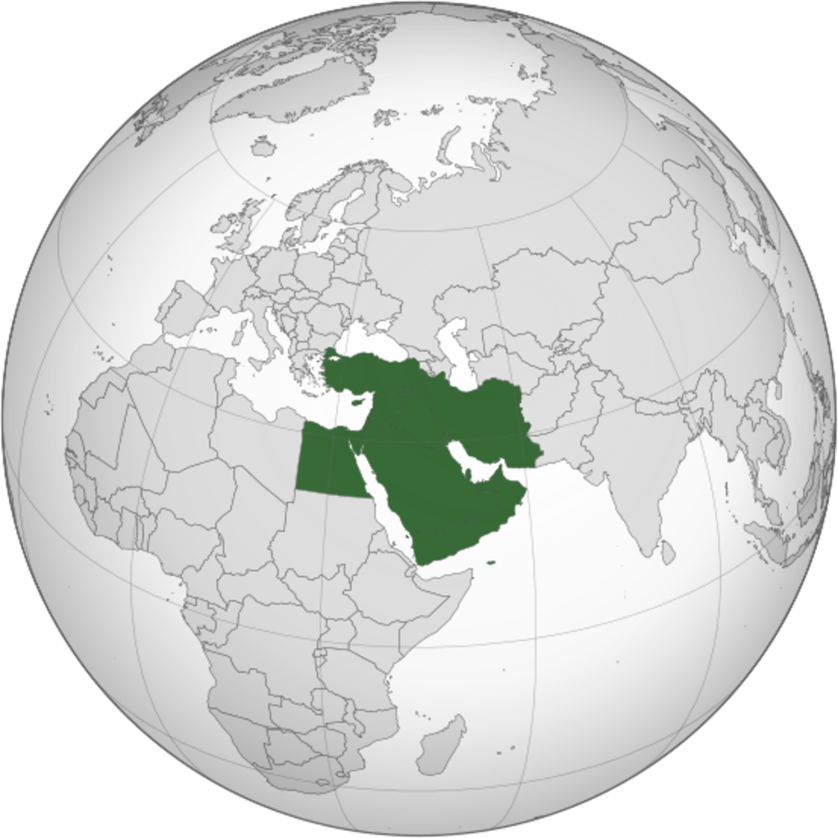 It may be one color on the map, but the Middle East is certainly not a homogeneous place.