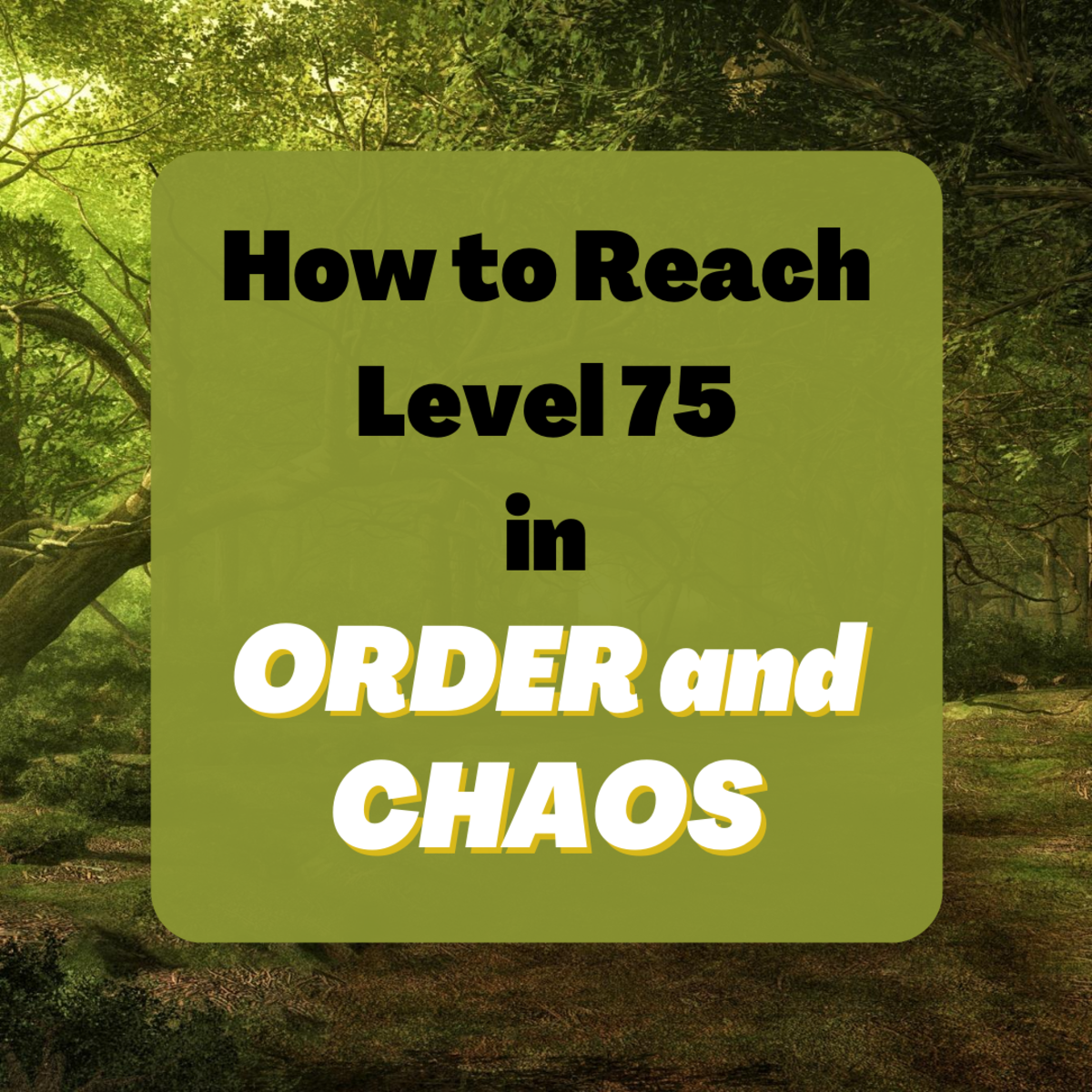"Learn about a few of the methods for hitting level 75 in ""OAC,"" including grinding, questing, and queueing for dungeons."