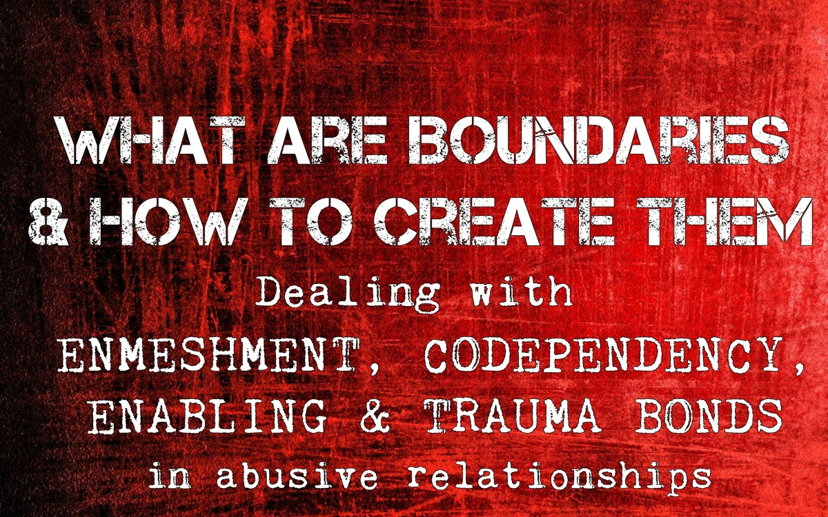 Boundaries & How to Create Them: Dealing With Enmeshment, Codependency, Trauma Bonds and More