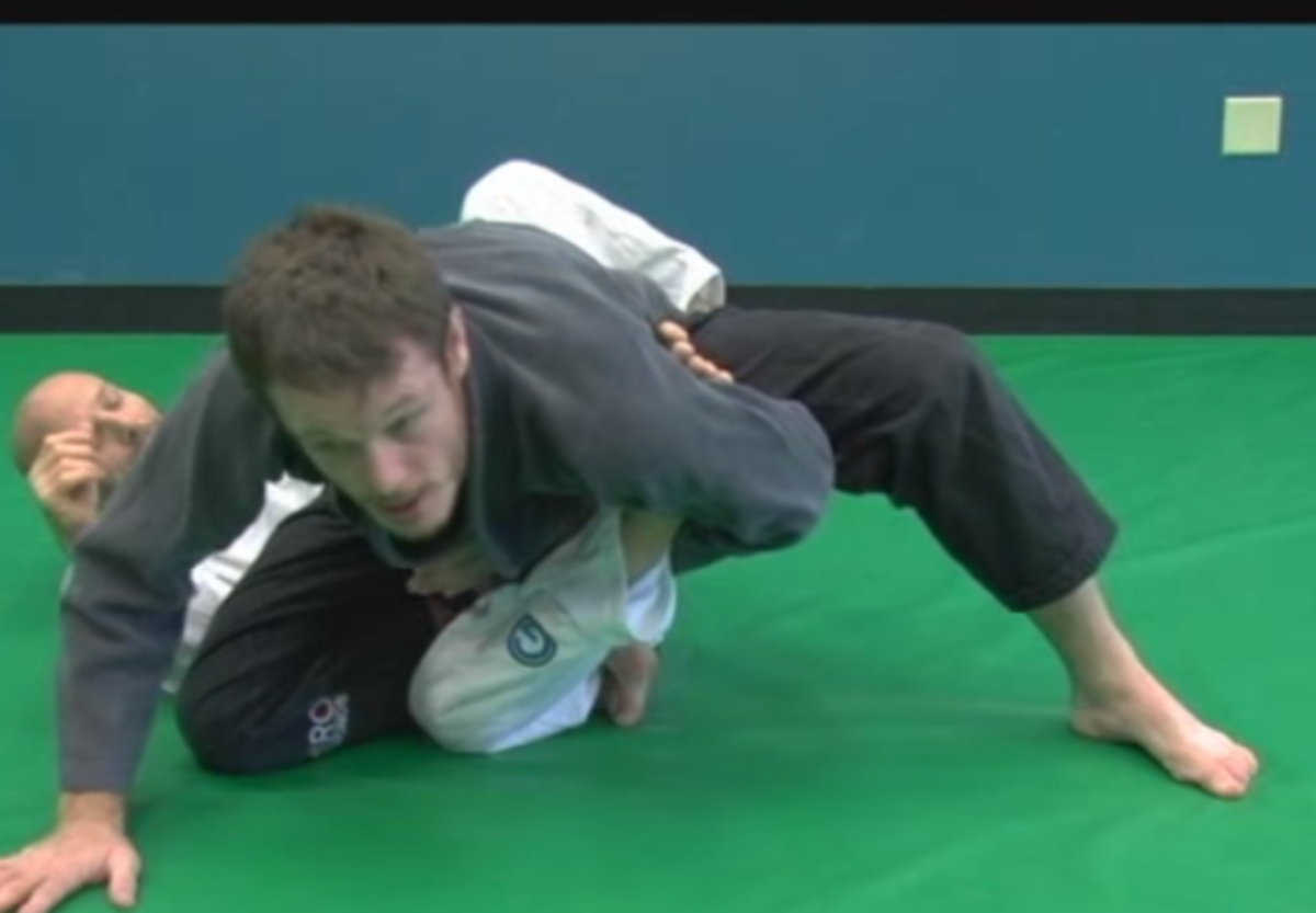 Belly-Down, Straight-Ankle Lock in Brazilian Jiu-Jitsu