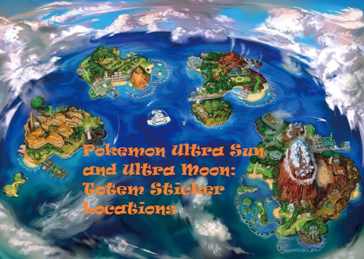 """Pokémon Ultra Sun and Ultra Moon"" Totem Sticker Locations"