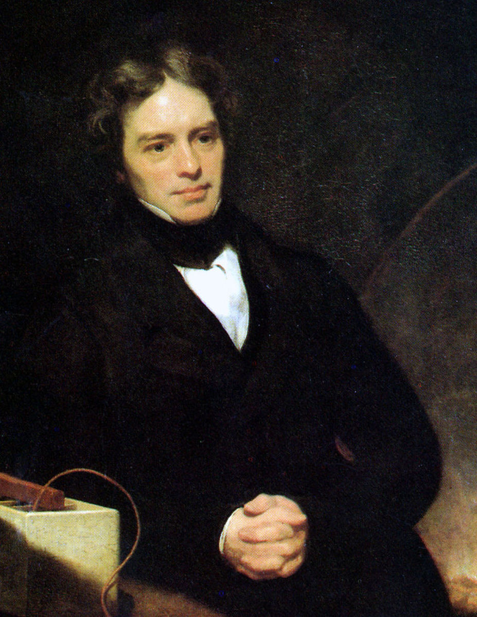Portrait of Michael Faraday by Thomas Phillips oil on canvas, 1841-1842