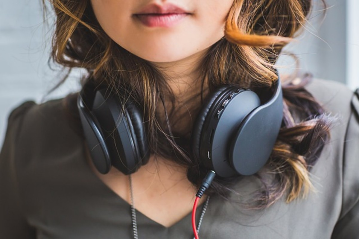 Ambient noise can help reduce anxiety.