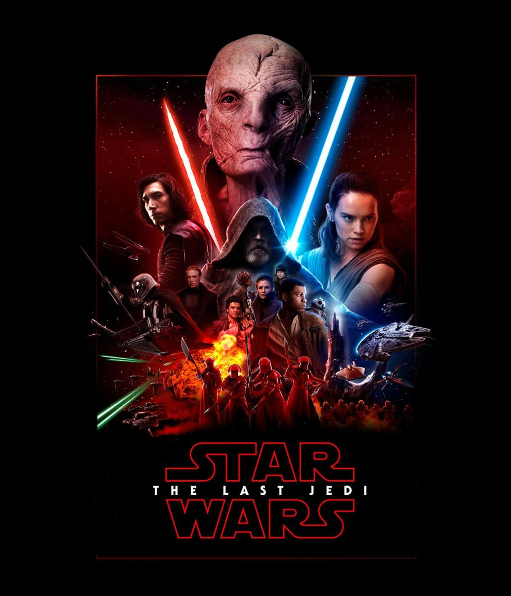 Star Wars: The Last Jedi fan poster by Preedee Thinnakorn Na Ayudhya