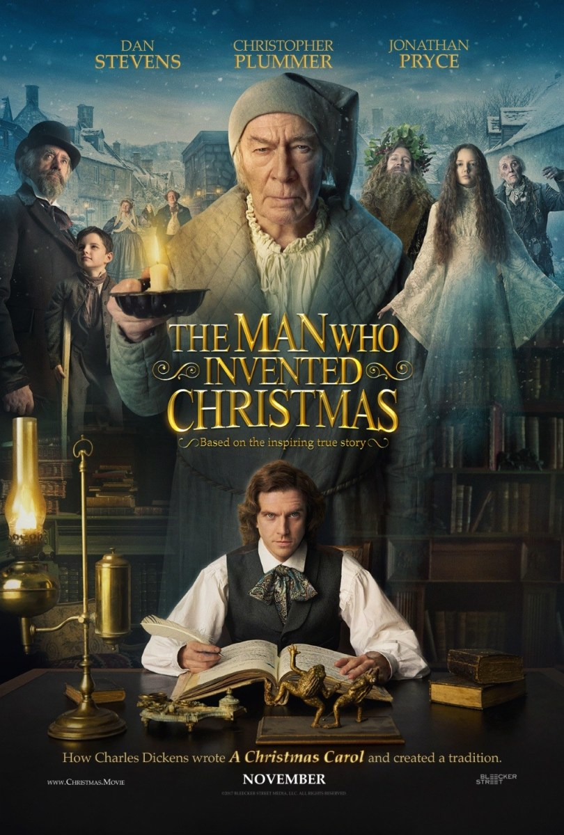 The Man Who Invented Christmas: Movie Review