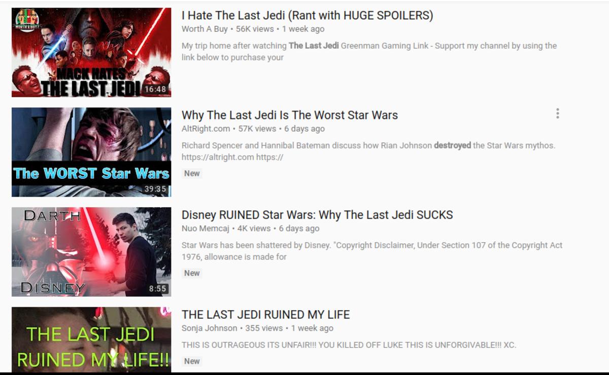 A Mean Cup'a Joe: Star Wars: The Last Jedi (Spoilers)