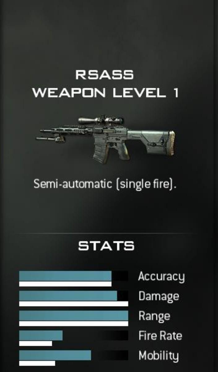 RSASS Sniper Rifle