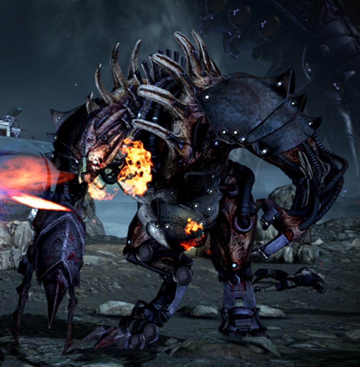 """A Brute in """"Mass Effect 3."""""""