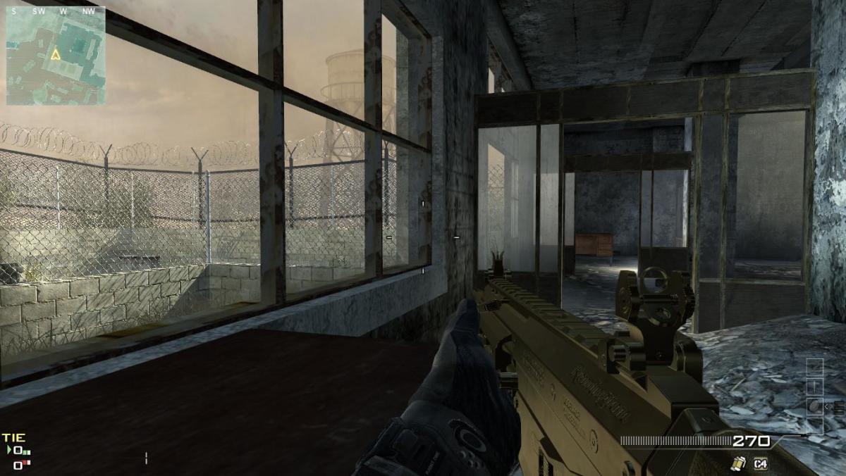 Modern Warfare 3 Map Dome Camping Spot 7.