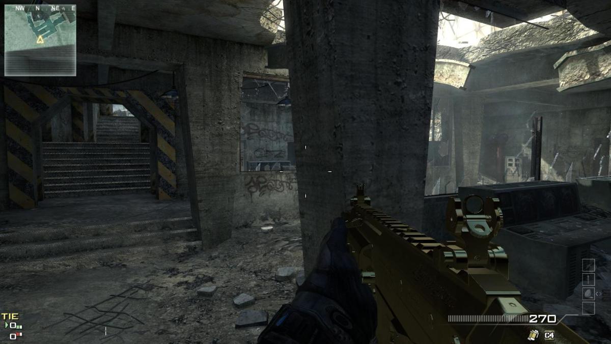 Modern Warfare 3 Map Dome Camping Spot 3.