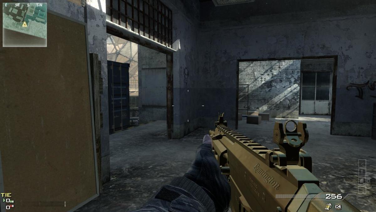 Modern Warfare 3 map Dome Camping Spot 1.