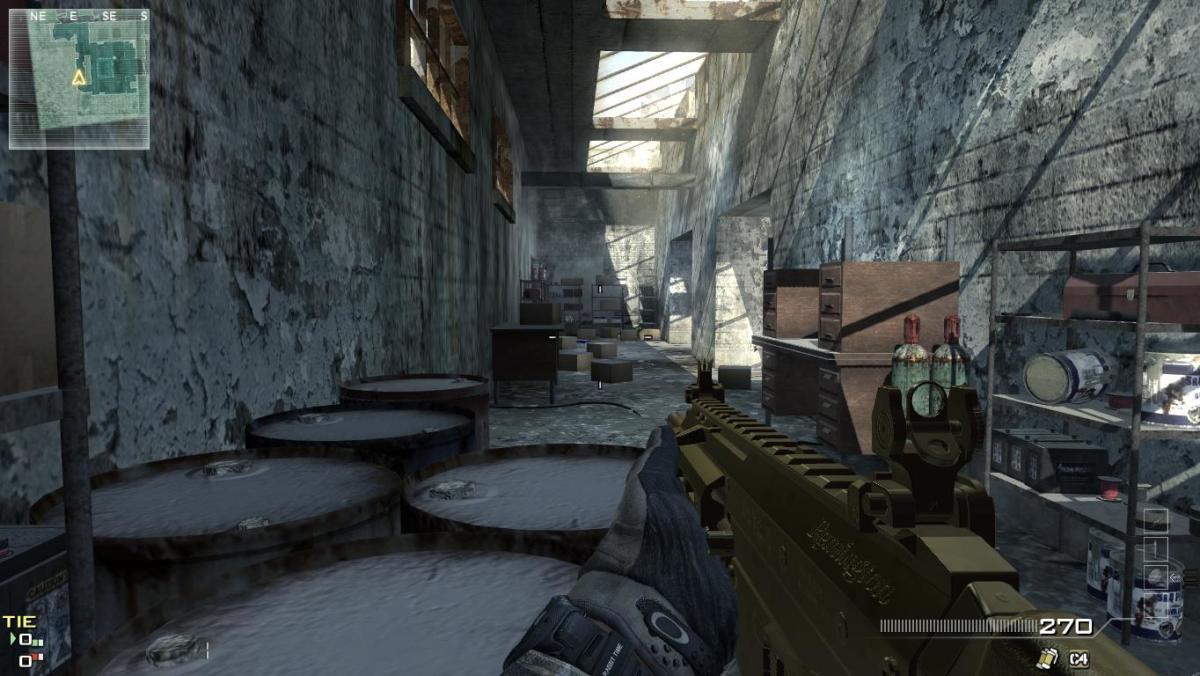 Modern Warfare 3 Map Dome Camping Spot 4.