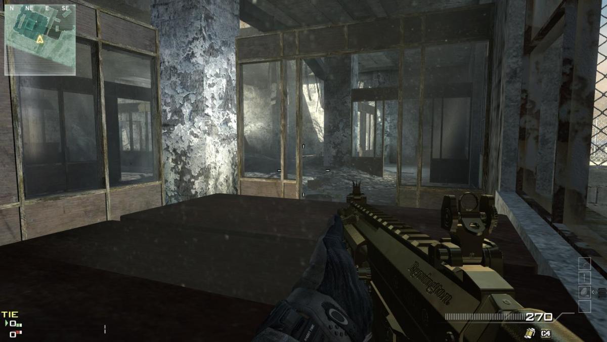 Modern Warfare 3 Map Dome Camping Spot 5.