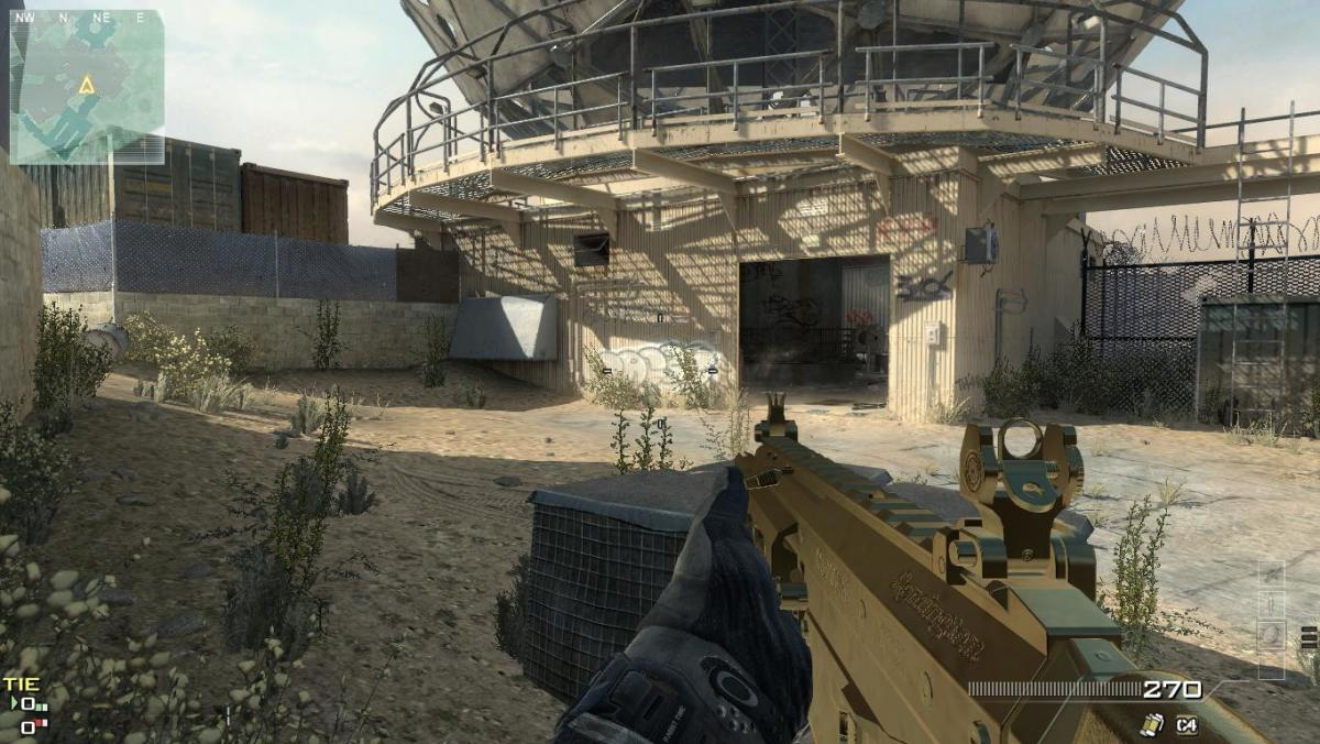 Modern Warfare 3 Map Dome Camping Spot 9.